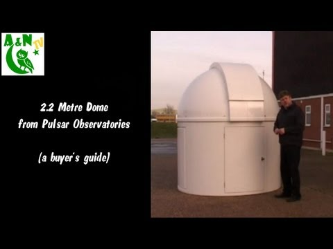 A Guide to the 2.2 Metre Dome from Pulsar Observatories.