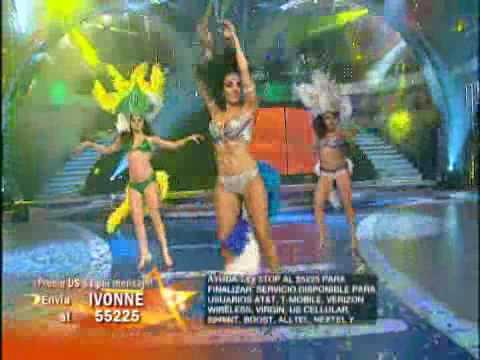 Muy sensual Ivonne Montero baila Samba