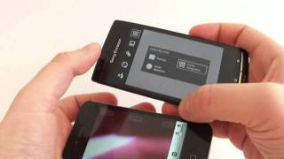 Sony Ericsson XPERIA arc vs iPhone 4  Android 2.3 Gingerbread vs iOS 4.3