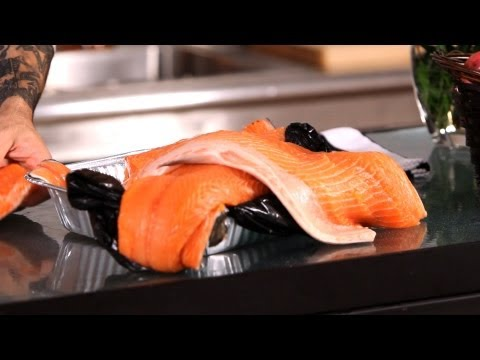 How to Buy & Cook Salmon   Fish Filleting