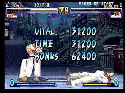Street Fighter 3 New Generation + Gameplay