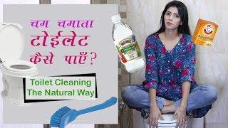 (हिंदी) चमकता  टॉयलेट कैसे पाएँ ? Clean Your Toilet With Natural Ingredients