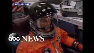 John Glenn Returns to Space in 1998 | ARCHIVAL VIDEO