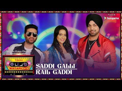 SADDI GALLI/RAIL GADDI (Video) | Mixtape Punjabi | Deep Money | Preet Harpal | Amruta Fadnavis