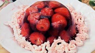 Новогодние десерты, новые рецепты блюд на Новый Год 2017 Вкусное желе из ягод рецепт NEW fruit jelly
