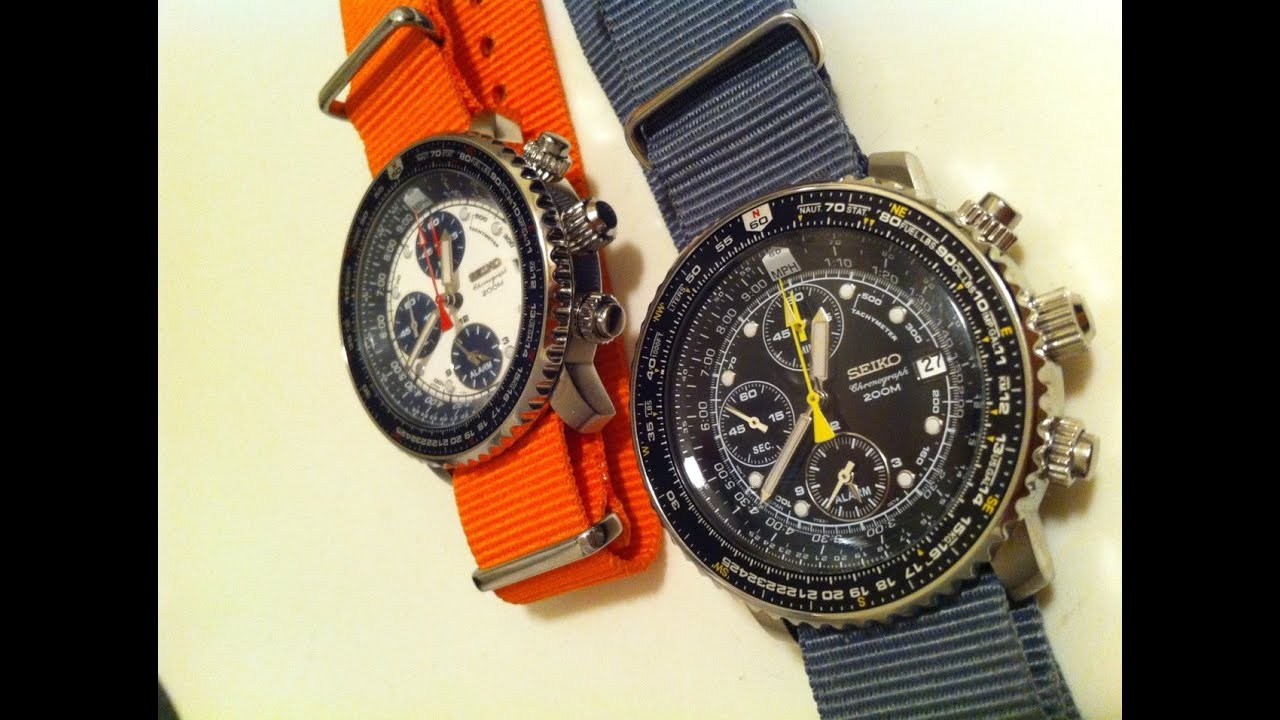TGV's Favourite Beater Watch For Under $200 - The Seiko FlightMaster SNA411 P1 & SNA413 Review ...