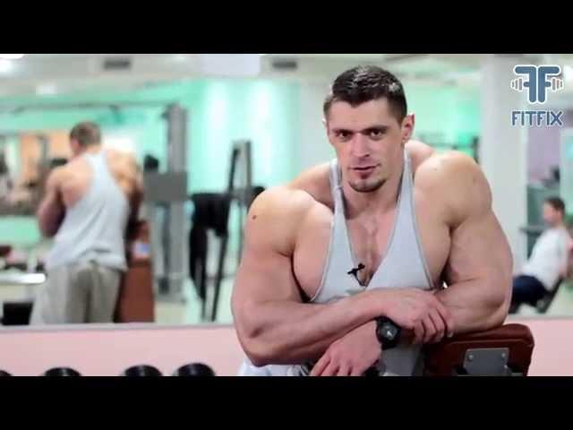 Дмитрий Яшанькин - Тренировка с чемпионом. Адам Козыра тренирует грудь и б