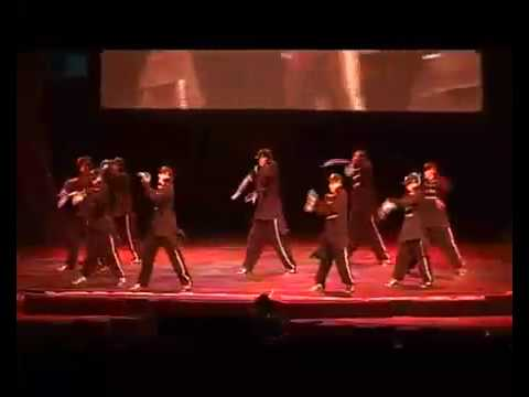 Diversity Dance Group Perform Transformers Streetdance Uk 2008 video