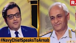 Admiral Sunil Lanba Speaks To Arnab Goswami   Nation Wants To Know