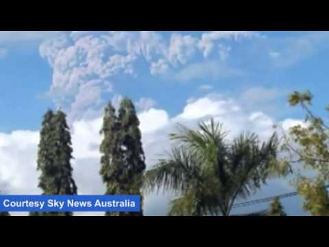 Qantas passengers at Perth Airport affected by Sangeang Api volcano ash cloud