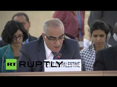 Switzerland: 'Israeli leadership bears primary responsibility for war crimes'- UN Palestine delegate