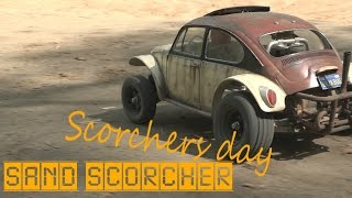 Tamiya Sand Scorcher old car Scorchers Day