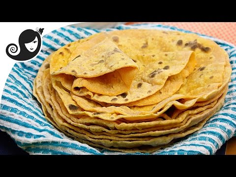 Sweet Potato Flatbread (Roti)   Oil-free + Yeast-free + Vegan/Vegetarian Recipe