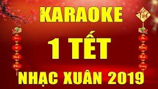 Mùng 1 Tết Hát Nhạc Này Mới Đã | Nhạc Sống Karaoke Bolero Ngày Xuân - Ngày Tết 2019 | Trọng Hiếu