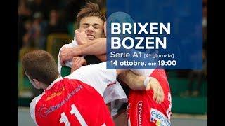 Serie A1M [4^]: BRESSANONE - BOLZANO 28-31