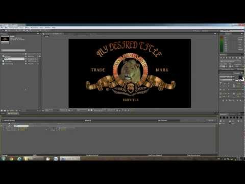 TUTORIAL: MGM Intro HD