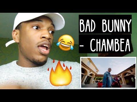 Chambea - Bad Bunny | Video Oficial REACTION
