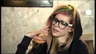 euronews le mag - Avril Lavigne releases 'coming of age' album