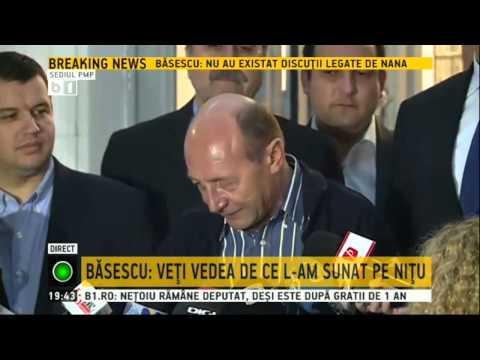 Traian Basescu, despre serviciile secrete