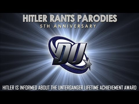 Hitler is informed about the Unterganger Lifetime Achievement Award