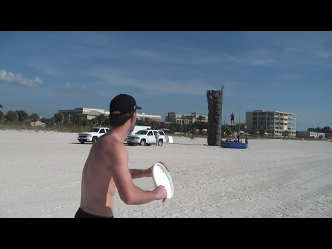 Frisbee Trick Shots | Beach Edition #2 | Brodie Smith