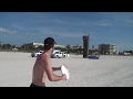 Youtube replay - Frisbee Trick Shots | Beach Edition...