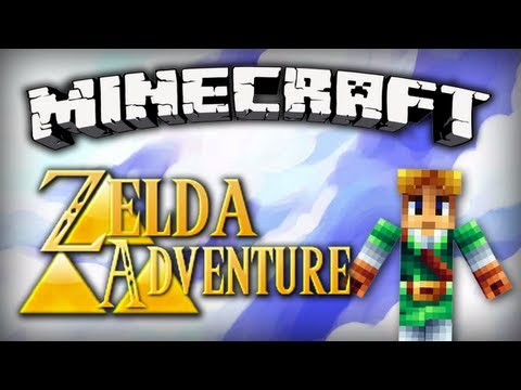 Minecraft : Zelda Adventure | Episode 2 - Le bouclier Kokiri