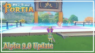 My Time at Portia - Alpha 9.0 | Update Video | September 2018