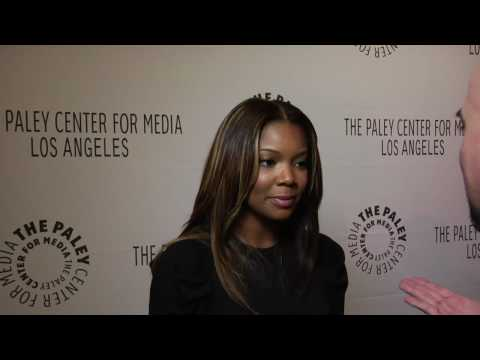 Gabrielle Union interview for Flash Forward at Paleyfest 2010 Video