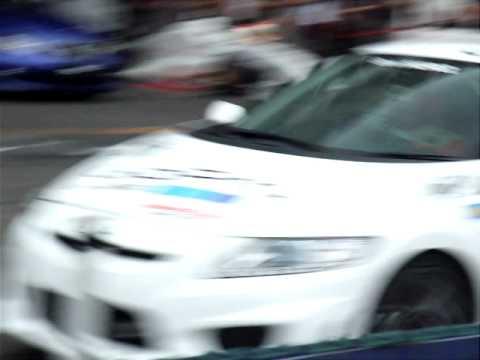 HONDA CR-Z Tuend Car Run.