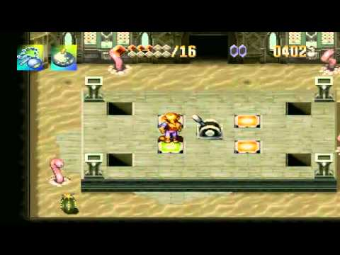 Let's Play Alundra -22- The Desert Palace's Final Trials