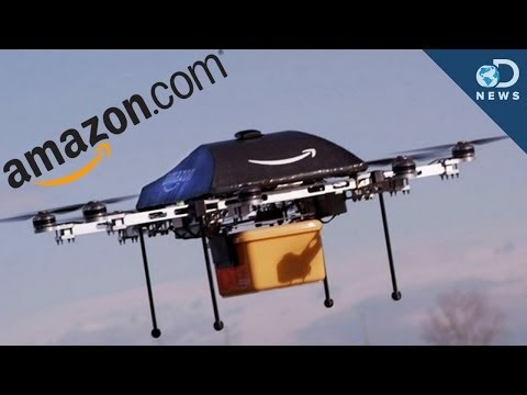 Amazon.com says in a few years, your orders will be delivered to your door by drones! But before this happens, there's a few (major) issues to be worked out....