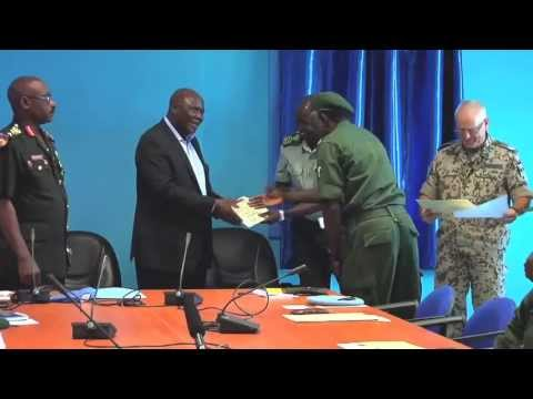 WorldLeadersTV: SOUTH SUDAN: UNMISS COURSE in PEACEKEEPING OPERATIONS