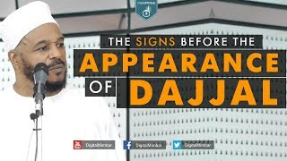 The Signs Before the Appearance of Dajjal - Dr Bilal Philips