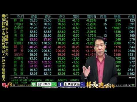 8/19(日)早上桃園 下午台北 講座:超跌才有超額利潤 加入LINE@點選報名