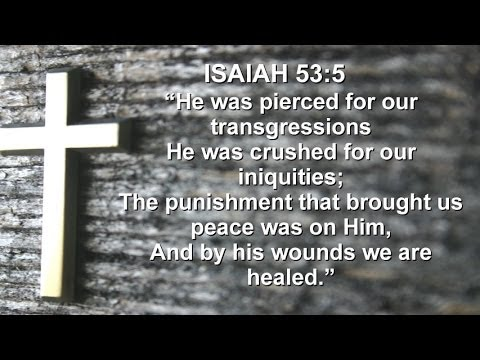 Isaiah 53 5 6 Isaiah 53 5 Sermon by Richard