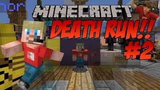 Ethan plays Minecraft: Deathrun #2 (BOSSED IT!!!!!) KID GAMING