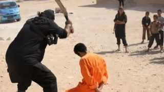 ISIS Ejecutó a Dos Prisioneros Frente a un Grupo de Niños