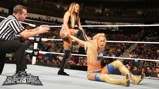 Summer Rae vs. Cameron: WWE Superstars, January 16, 2015