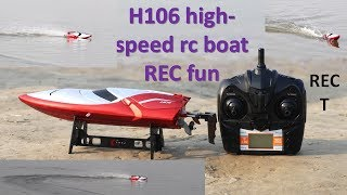 high speed rc boat  || raj easy craft toy || fun with toy