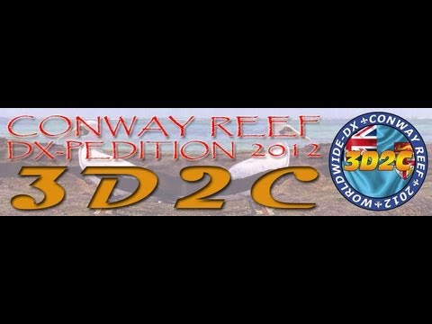 3D2C Conway Reef 2012 DXPedition Pileup (Intentional QRM)