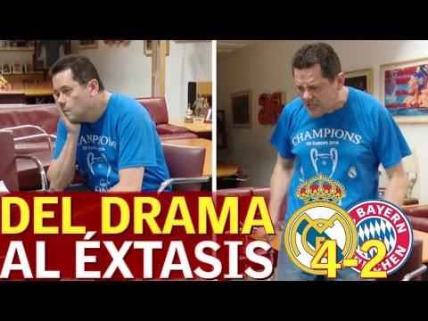 Real Madrid 4-2 Bayern | Así lo vivió Roncero: del drama al éxtasis | Diario AS thumbnail
