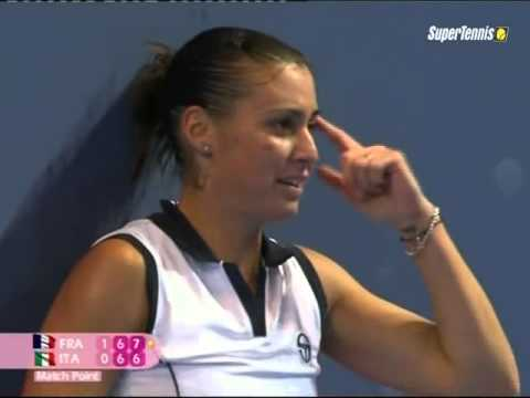 Pennetta VS Mauresmo (FC2009) The