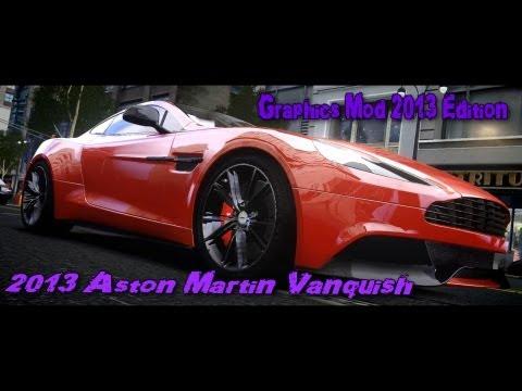 GTA IV - 2013 Aston Martin Vanquish Show Off (Graphics Mod 2013 Edition)