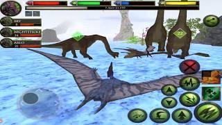 Pterodactyl Family Survival Simulator #3, Ultimate Dinosaur Simulator, By Gluten Free Games