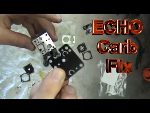 ECHO SRM-210 Tune-up Fuel System.mpg