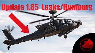 Update 1.85 Leaks & Rumours - War Thunder