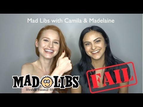 Cover Lagu Mad Libs Fail with Camila Mendes! | Madelaine Petsch