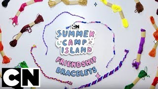 Summer Camp Island | How to Make: Friendship Bracelets 💛| Cartoon Network