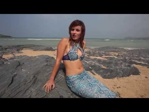 Model fulfills lifelong dream to become professional mermaid